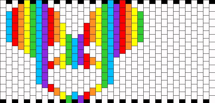 Rainbow Deadmau5 Cuff