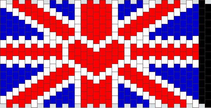 I Heart British Flag