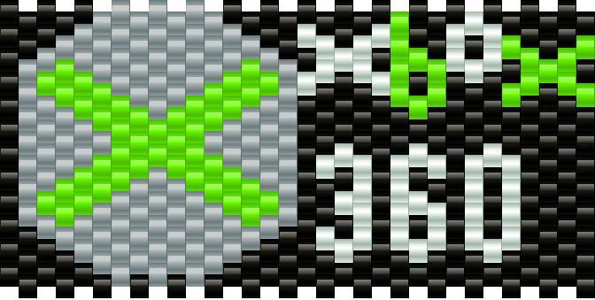 Xbox Kandi Pattern