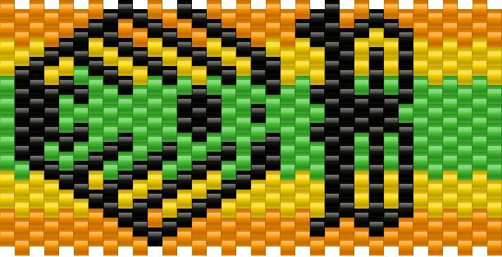 Bassnectar Kandi Pattern