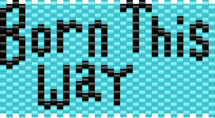 Born This Way Kandi Pattern