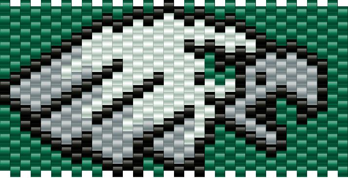 Eagles Logo Kandi Pattern