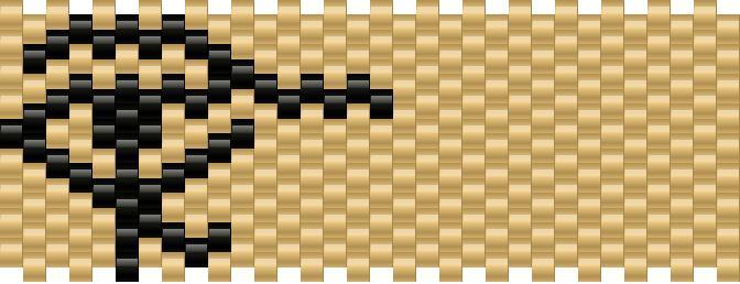 Egyptian Eye Kandi Pattern