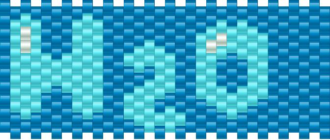 H2o Kandi Pattern