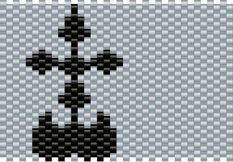 Nobodies Symbol Kingdom Hearts Pony Bead Patterns Misc Kandi