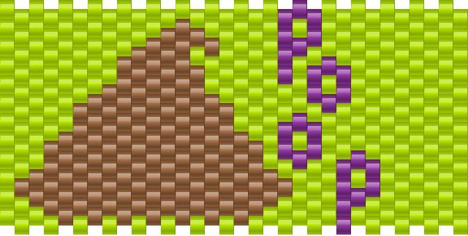 Poop Kandi Pattern