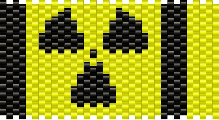 Radioactive Kandi Pattern