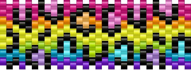 smaller rainbow leopard print