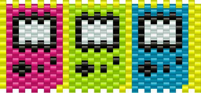 Smallgameboys Kandi Pattern