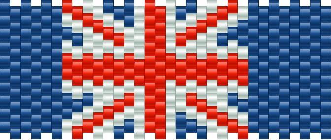 Union Jack Kandi Pattern