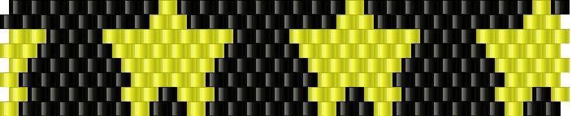 Stars Bead Pattern