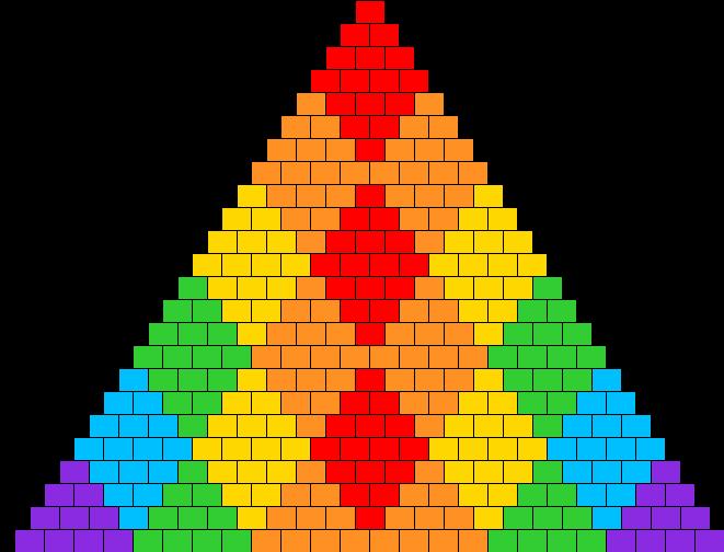 Diamond Rainbow Bikini 1