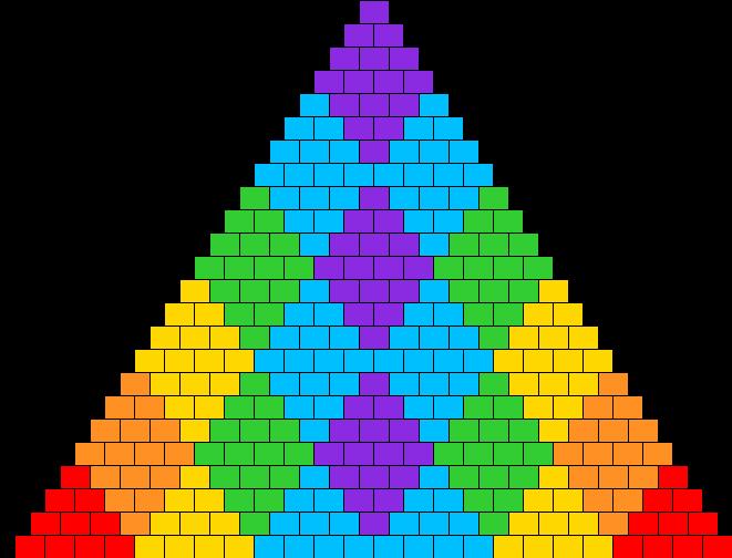 Diamond Rainbow Bikini V2