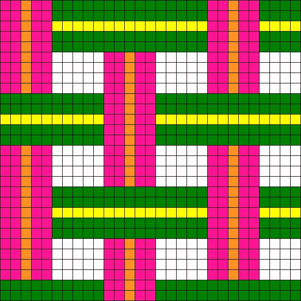 Weave Perler Bead Pattern / Bead Sprite