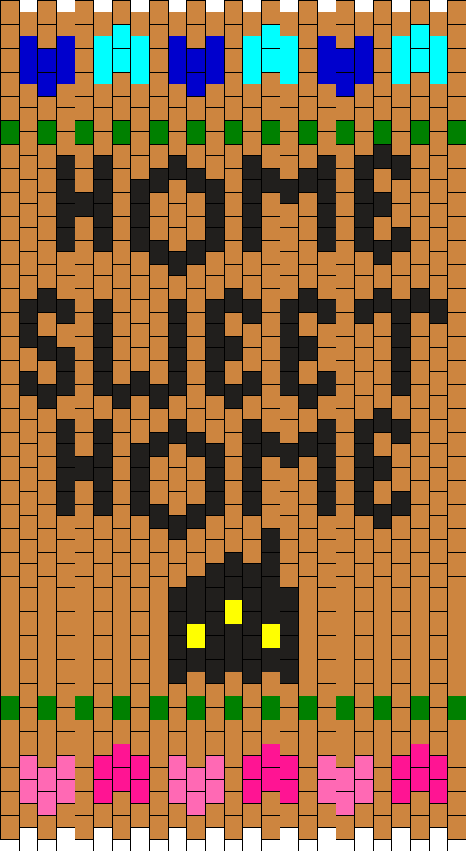 Home Sweet Home Panel Bead Pattern