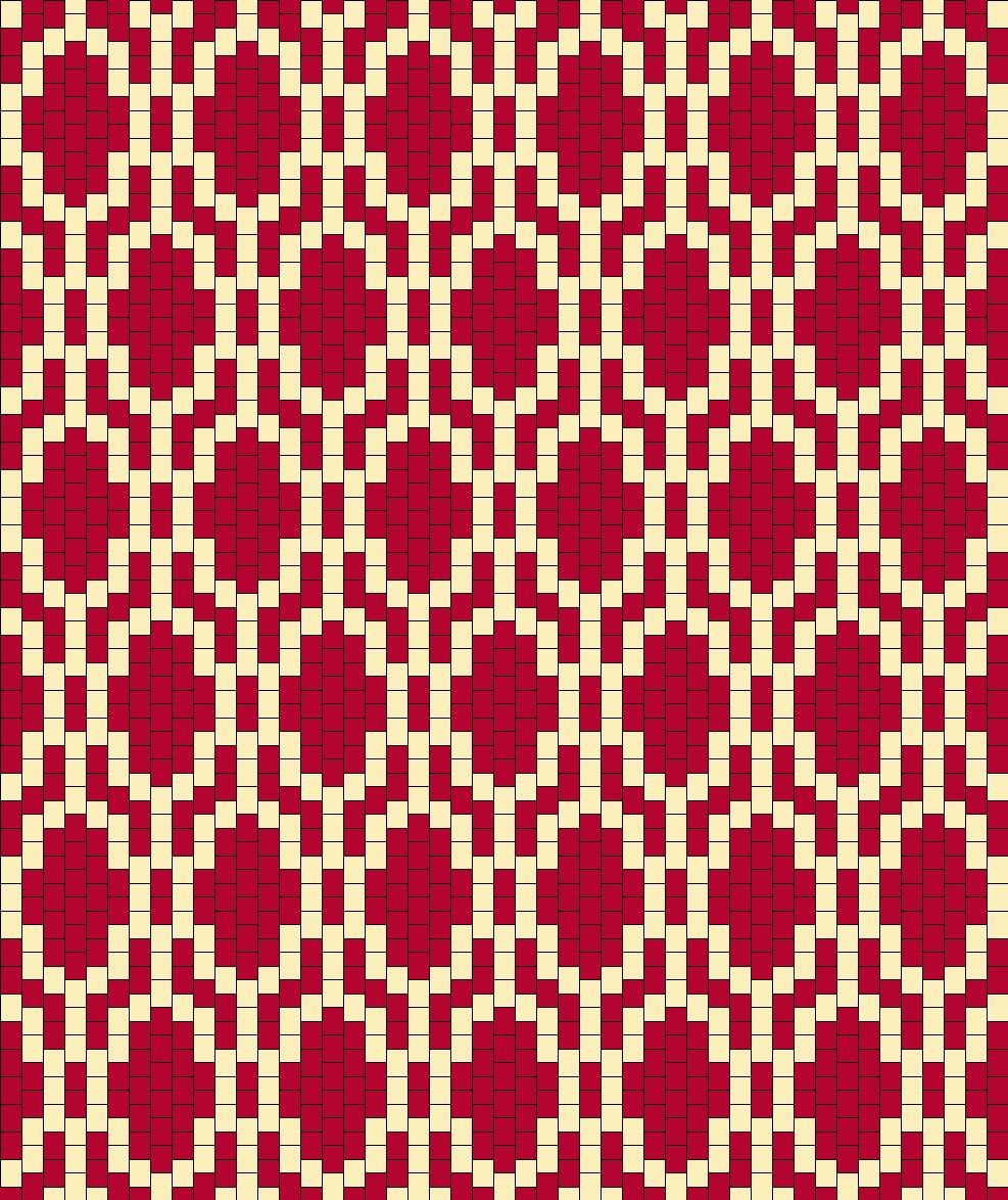 1930 Bead Pattern