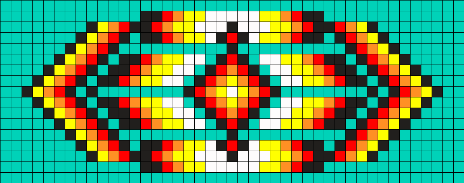 Native American Bead Art