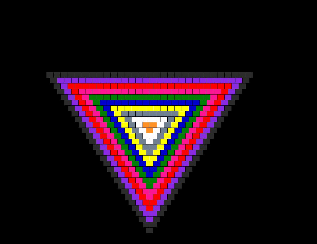 Random Bandana Bead Pattern
