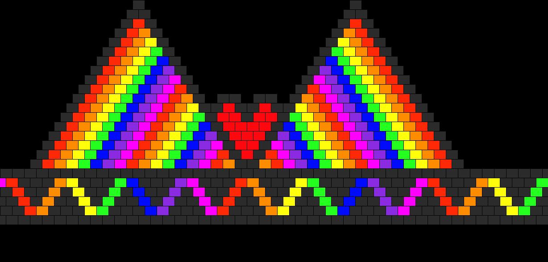 RaInBoW BiKiNi Bead Pattern