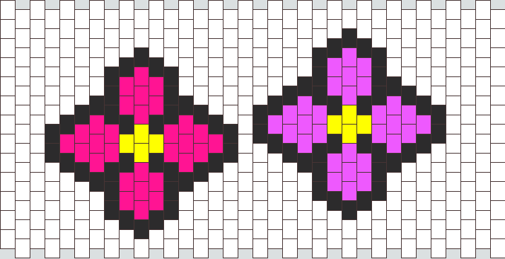 Flawers  Bead Pattern