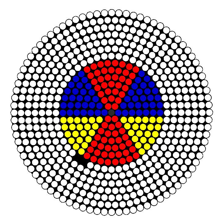 Color Ful Beach Ball Perler Bead Pattern / Bead Sprite