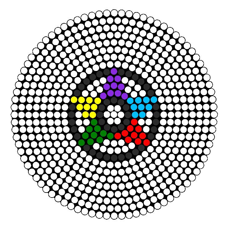 Pentagram Perler