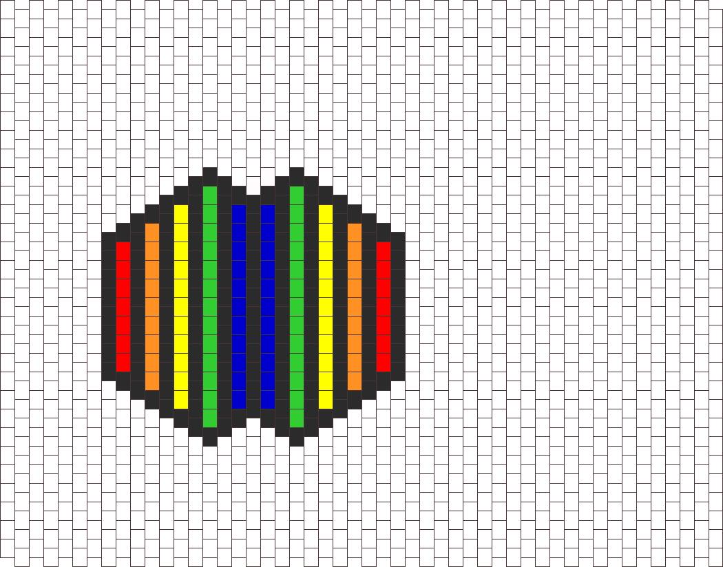 Rainbow Line Mask