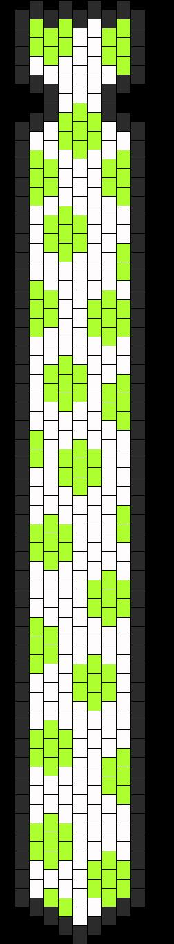 PokaDot Tie Bead Pattern
