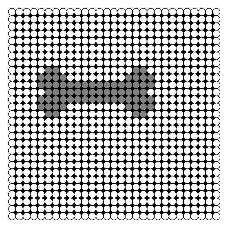 Bone Perler Bead Pattern / Bead Sprite