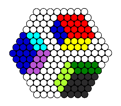 3D Perler Cubes