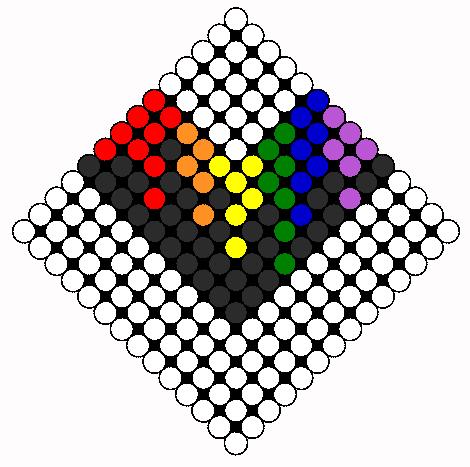 purple heart | My Perler Beads | Pinterest | Heart, Purple ... |Perler Bead Heart