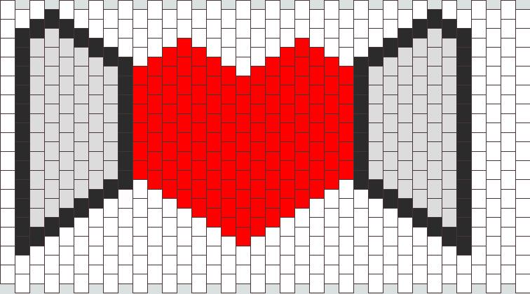 Heart Kandi Pattern