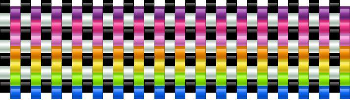 Colorful Kandi Pattern