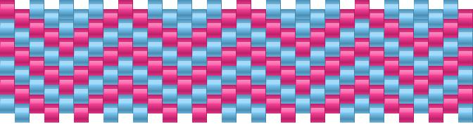 Stripes 3 Kandi Pattern