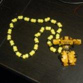 Bumblebee Transformer Necklace