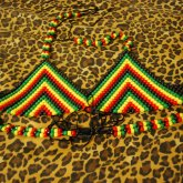 Rastafarian Bikini Top.