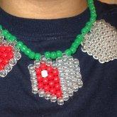 Legend Of Zelda Hearts Necklace