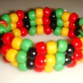 Rastafarian Inspired Cuff