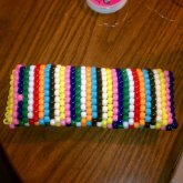 My First Kandi Clutch The Back