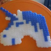 Unicorn Fuse Bead!