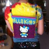 Hello Kitty Kandi Backpack (front)