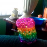 RAINBOW SPARKLY X-BASE CUFF
