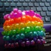 Rainbow Phatie Cuff