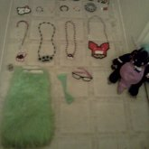 Some Of Meh Kandi C: & My Backpacks Name Is 'Draco':D