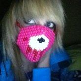 Gloomy Bear Kandi Mask