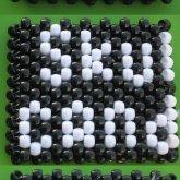 Kandi Skull Candy Logo Cuff