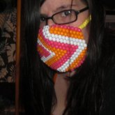 First Surgical Mask (on Face)