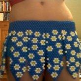 Daisy Gladiator Skirt