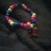 Rainbow Domo Bracelet.