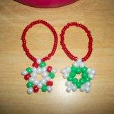 Christmas Kandi Star Bracelets